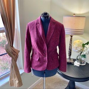 Lane Bryant Pink Tweed Blazer Size 16